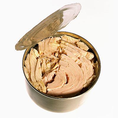 eat canned tuna