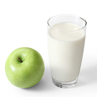 pair protein and fruit