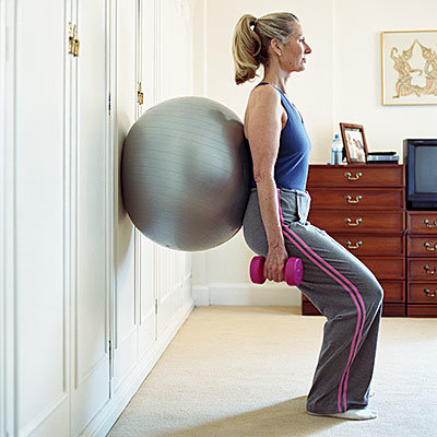 set up a gym in your home
