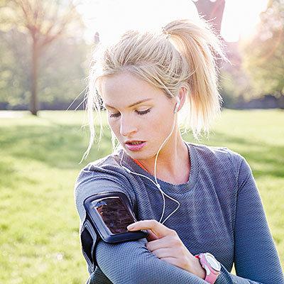 make a workout playlist