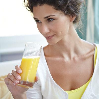 skip sugary fruit juices