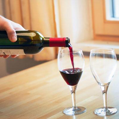 skip drinking alcohol