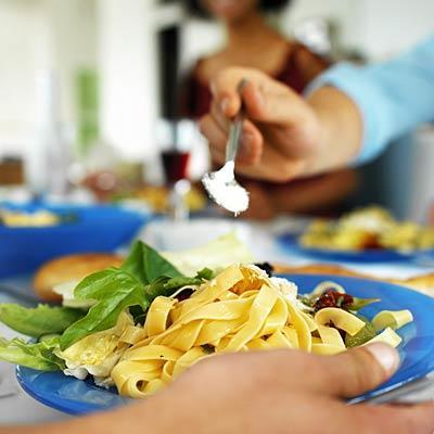 pasta-eating