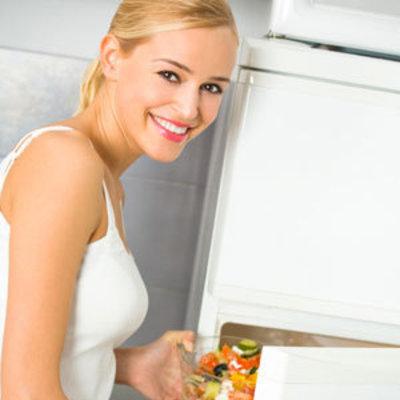 fridge-woman
