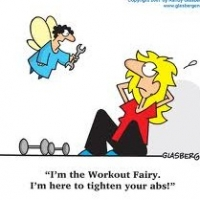 Exercise! Magic Pill for Weightloss!