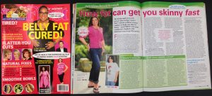 Susan was featured in First for Women magazine!