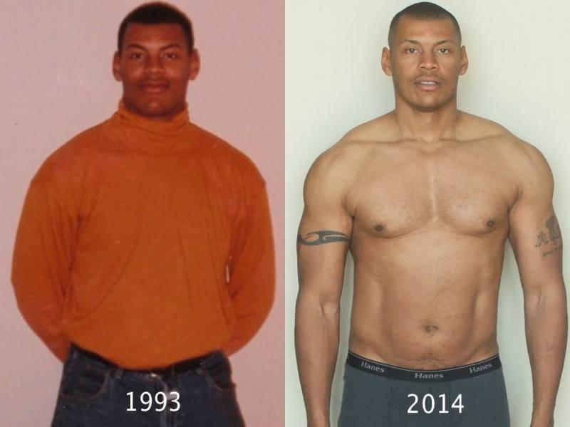 Vince Transformation 1993 vs 2014