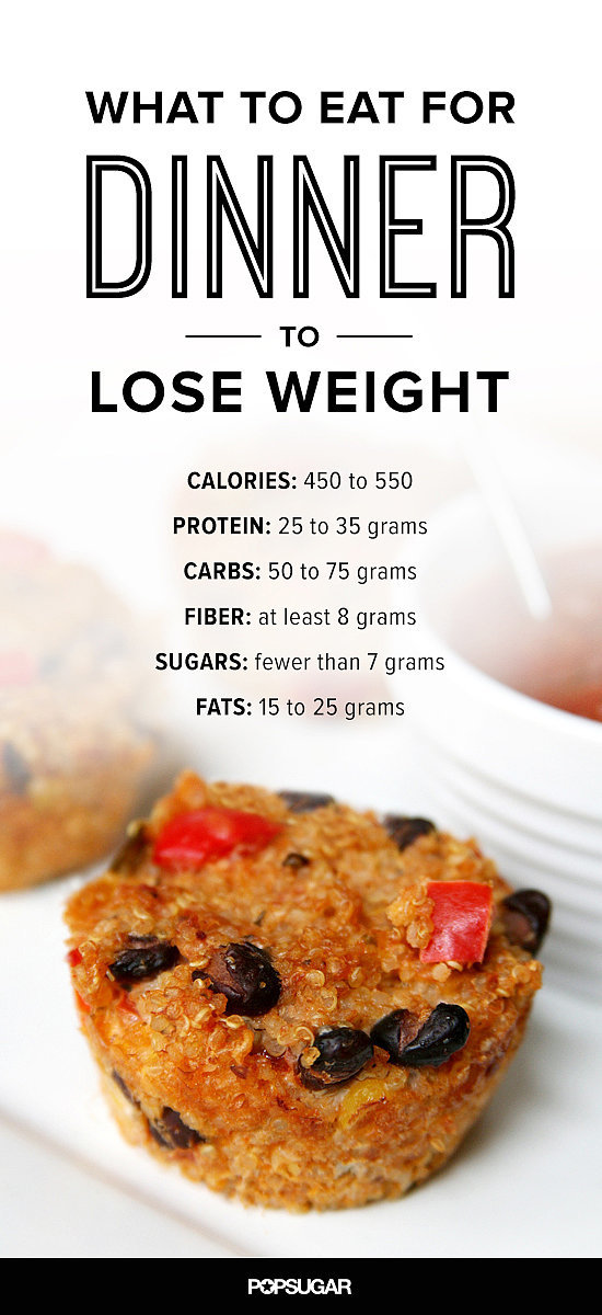 what to eat for dinner to lose weight